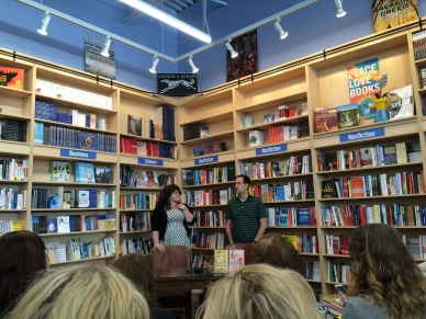 Rainbow Rowell David Levithan signing