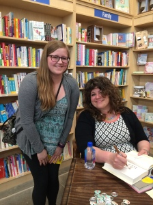 Rainbow Rowell and Ellie
